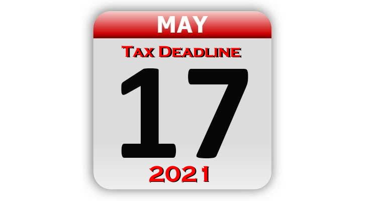 Irs Calendar 2022.Irs Makes It Official Tax Deadline Delayed To May 17 2021 Cpa Practice Advisor